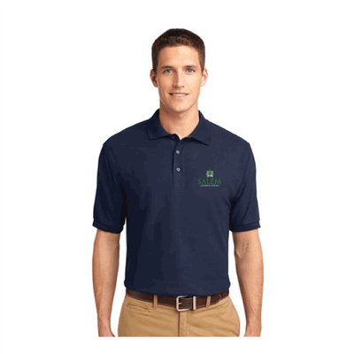 Mens Embroidered Chapel Polo