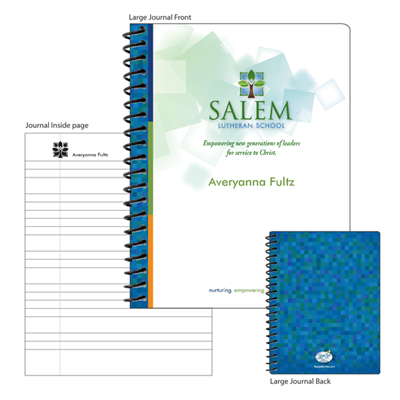 Large Salem Logo Notebook