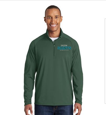 Men's Hunter Green Quarter Zip