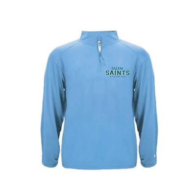 Men's Columbia Blue Quarter Zip